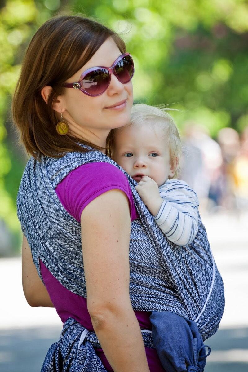 Baby šatka  Storchenwiege - nosenie detí - eshop Kengurka.sk 7f741942df