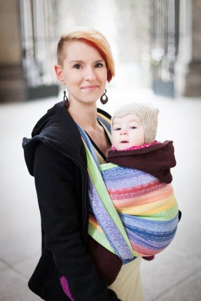 Baby šatka  Ellevill - nosenie detí - eshop Kengurka.sk 0879eb9ae3