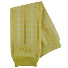 Návleky Babylegs/ vzor Yellow Plaid